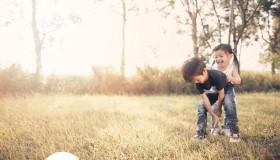 Kids jolie and Garrick